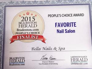 Favorite Nail Salon People's Choice Award