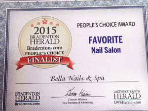 Favorite Nail Salon People's Choice Award